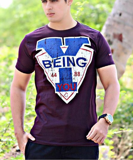 Buy being human t shirt purple online at best price for Buy being human t shirts online